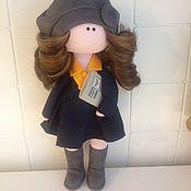 Портретная кукла ручной работы. Ярмарка Мастеров - ручная работа текстильная интерьерная портретная кукла. Handmade.