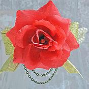 """Свадебный салон ручной работы. Ярмарка Мастеров - ручная работа Браслет подружки невесты """"Королева цветов"""". Handmade."""