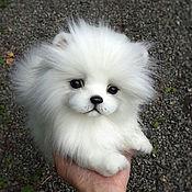 Куклы и игрушки handmade. Livemaster - original item Puppy Spitz Cloud. Handmade.