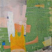 """Картины и панно ручной работы. Ярмарка Мастеров - ручная работа Интерьерная абстракция """"Сон"""". Handmade."""