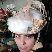 handmade. Livemaster - original item Retro hat