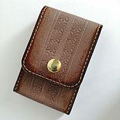 Сумки и аксессуары handmade. Livemaster - original item Women`s cigarette case STYLISH THING made of genuine leather.. Handmade.