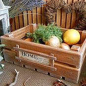 """Для дома и интерьера ручной работы. Ярмарка Мастеров - ручная работа Ящик для овощей """"Для уютного дома"""". Handmade."""