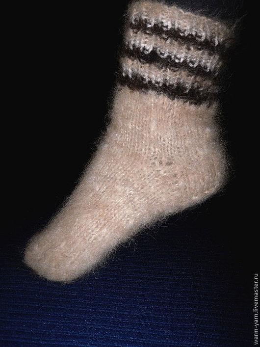 Носки, Чулки ручной работы. Ярмарка Мастеров - ручная работа. Купить Носки женские из собачьей шерсти. Handmade. Женские носки