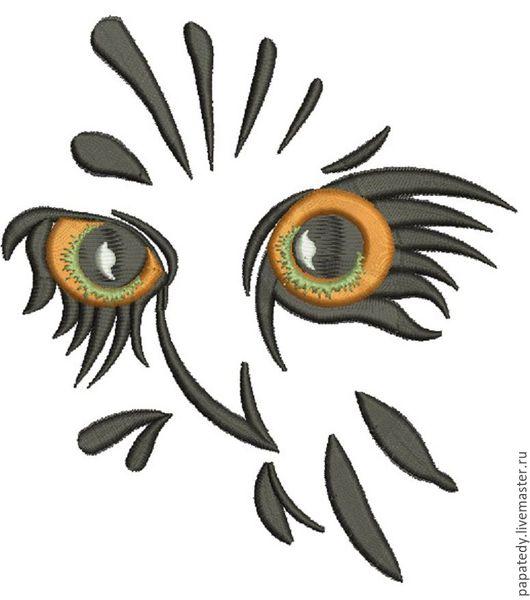 Иллюстрации ручной работы. Ярмарка Мастеров - ручная работа. Купить профиль совы машинной вышивки. Handmade. Вышивка для малыша