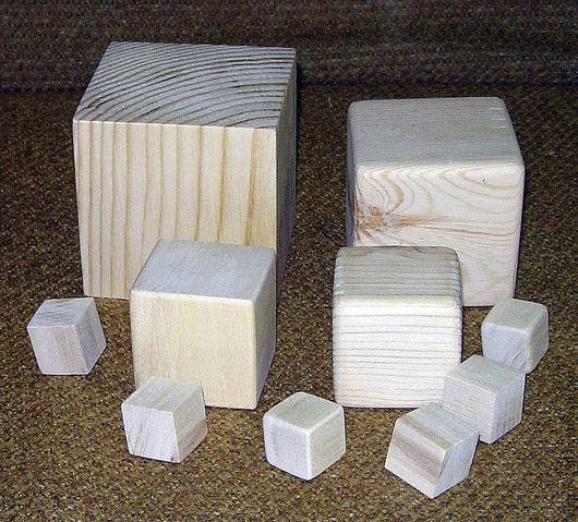 Возможно заказать кубики размером до 10см!