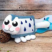 Куклы и игрушки handmade. Livemaster - original item Rain Cat mini, soft toy nyashny cat Nyan Cat nyanket. Handmade.