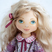 Куклы и игрушки ручной работы. Ярмарка Мастеров - ручная работа Кукла интерьерная  Виктория, текстильная кукла, коллекционная кукла. Handmade.