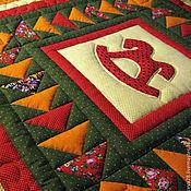 Для дома и интерьера ручной работы. Ярмарка Мастеров - ручная работа детское лоскутное одеяло Моя лошадка. Handmade.