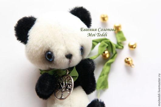 Мишки Тедди ручной работы. Ярмарка Мастеров - ручная работа. Купить Панда. Handmade. Чёрно-белый, авторская ручная работа