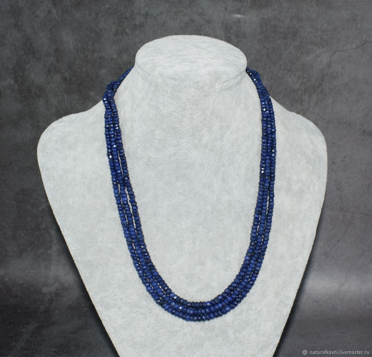 Natural SAPPHIRE beads with cut, Beads2, Moscow,  Фото №1