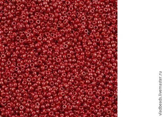 Для украшений ручной работы. Ярмарка Мастеров - ручная работа. Купить Бисер круглый Miyuki 426 11/0 426 opaque luster red. Handmade.