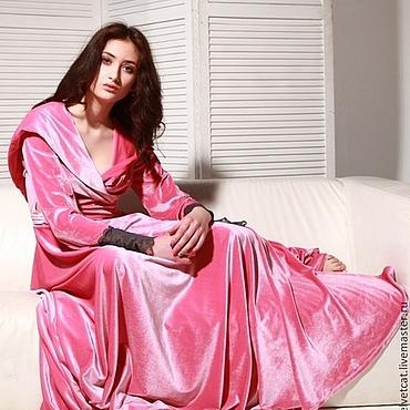 """Одежда ручной работы. Ярмарка Мастеров - ручная работа Халат """"Розовый Лед"""". Handmade."""
