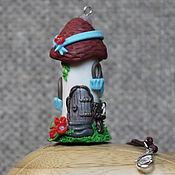 """Украшения ручной работы. Ярмарка Мастеров - ручная работа Подвеска-статуэтка """"Домик №1"""". Handmade."""