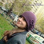 Аксессуары handmade. Livemaster - original item hat felting