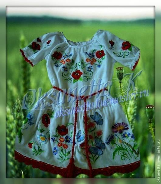 """Одежда для девочек, ручной работы. Ярмарка Мастеров - ручная работа. Купить Платье для девочки """"Любимое"""". Handmade. Белый, белое платье"""