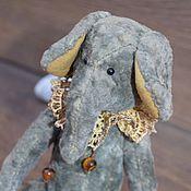 Куклы и игрушки ручной работы. Ярмарка Мастеров - ручная работа Малахитовый слоник. Handmade.