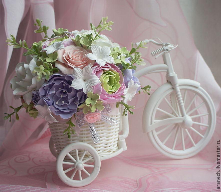 Велосипедик сувенир своими руками