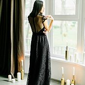 Свадебный салон handmade. Livemaster - original item Evening and wedding dress — Share - Sale Sample. Handmade.