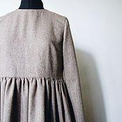 Одежда ручной работы. Ярмарка Мастеров - ручная работа Твидовое платье. Handmade.
