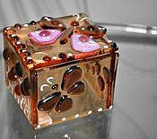 Для дома и интерьера ручной работы. Ярмарка Мастеров - ручная работа Шкатулка с бабочками. Handmade.