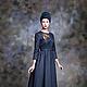Верхняя одежда ручной работы. Helga - классическое платье-пальто.. Eve Anders. Интернет-магазин Ярмарка Мастеров. Однотонный