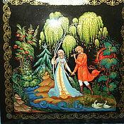Картины и панно handmade. Livemaster - original item Decorative miniature panel with the author`s painting