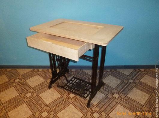 Мебель ручной работы. Ярмарка Мастеров - ручная работа. Купить столик из швейной машинки. Handmade. Столик из швейной машинки