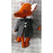 Куклы и игрушки ручной работы. Ярмарка Мастеров - ручная работа Лисичка Маритт. Handmade.