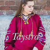 Одежда ручной работы. Ярмарка Мастеров - ручная работа Блузка бохо вышитая женская, этно стиль,Bohemia. Handmade.