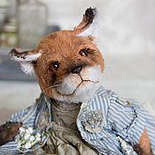 Куклы и игрушки ручной работы. Ярмарка Мастеров - ручная работа Лиса тедди Илма. Handmade.