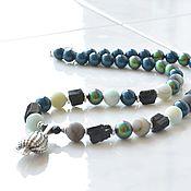 Украшения handmade. Livemaster - original item Choker with a Black Pearl shell pendant. Handmade.