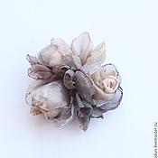 Украшения ручной работы. Ярмарка Мастеров - ручная работа Брошь розы. Handmade.