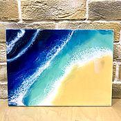 """Картины ручной работы. Ярмарка Мастеров - ручная работа Картина """"Морская абстракция"""". Handmade."""