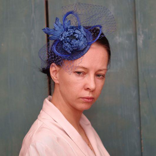 Шляпы ручной работы. Ярмарка Мастеров - ручная работа. Купить Вуалетка. Цветы из шёлка. Handmade. Вуалетка, шляпа, шляпка