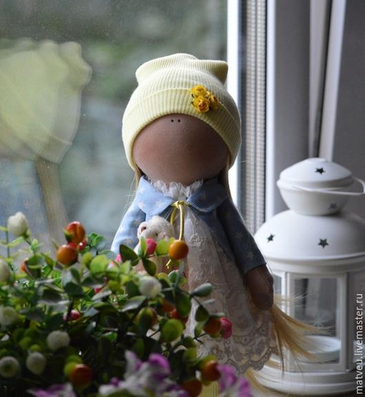 Куклы тыквоголовки ручной работы. Ярмарка Мастеров - ручная работа. Купить Машенька. Handmade. Кукла ручной работы, кукла текстильная
