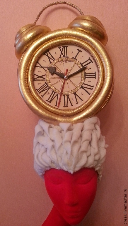 """Шляпы ручной работы. Ярмарка Мастеров - ручная работа. Купить Шляпка """" Часы"""". Handmade. Шляпка вечерняя, головной убор"""