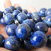 Украшения handmade. Livemaster - original item Afghan lapis lazuli beads. Handmade.