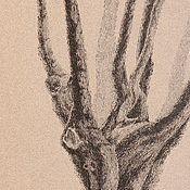 """Картины и панно ручной работы. Ярмарка Мастеров - ручная работа Картина """"Вяз"""" картина дерево графика пейзаж готика. Handmade."""