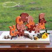 Stuffed Toys handmade. Livemaster - original item Spiritual gifts for children. Puzzle
