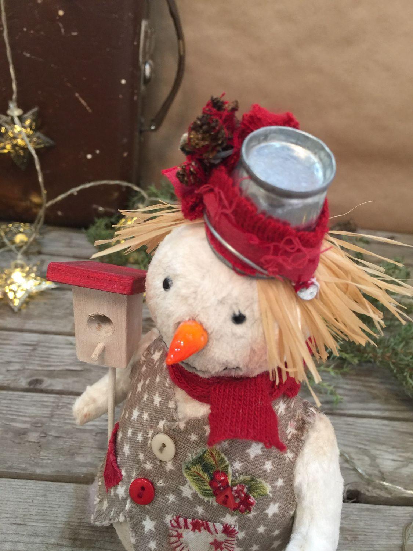 Снеговик, Мишки Тедди, Усинск,  Фото №1