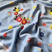 Материалы для творчества ручной работы. Ярмарка Мастеров - ручная работа Вискоза плательно рубашечная. Handmade.