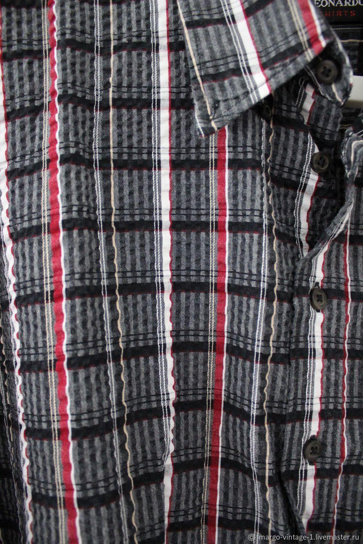 b6cdf23b7178e7c Ярмарка Мастеров Одежда. Винтаж: Мужская рубашка для богатыря.  Margo-vintage.