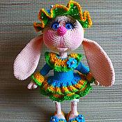 Куклы и игрушки ручной работы. Ярмарка Мастеров - ручная работа Зайка Лиза. Handmade.