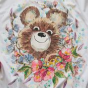 Одежда handmade. Livemaster - original item t-shirt Misha. Handmade.