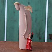 """Для дома и интерьера ручной работы. Ярмарка Мастеров - ручная работа Скульптура """" Когда я тебя видела"""". Handmade."""