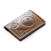 Канцелярские товары handmade. Livemaster - original item Passport cover personalized. Handmade.