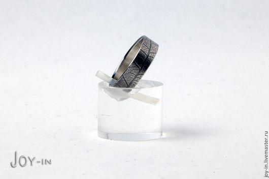 """Кольца ручной работы. Ярмарка Мастеров - ручная работа. Купить """"Чистый лист"""" кольцо из фактурированного серебра. Handmade. Кольцо, фактура"""