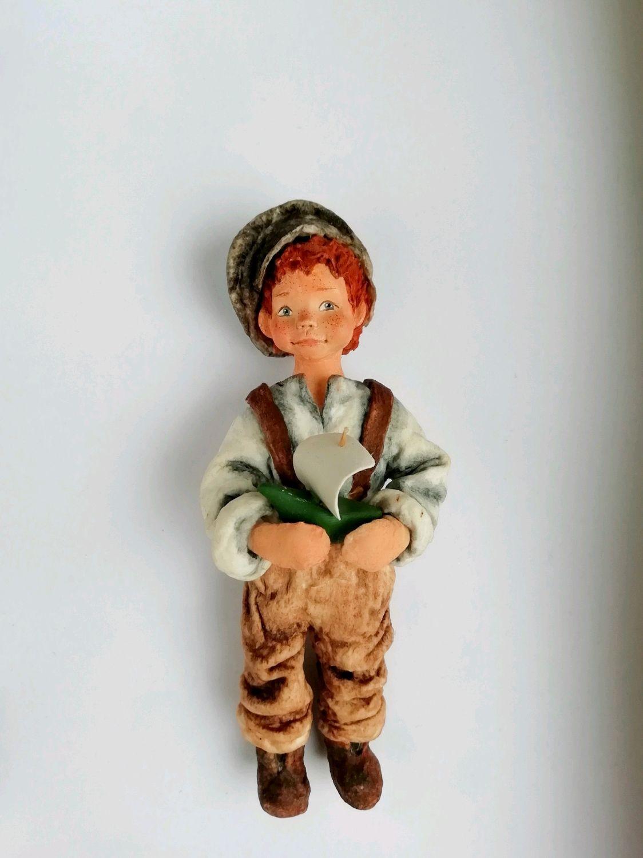 Ватная ёлочная игрушка, Народная кукла, Мичуринск,  Фото №1