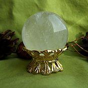 Материалы для творчества handmade. Livemaster - original item A ball of optical calcite. Handmade.